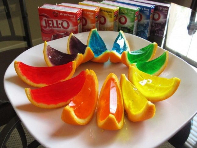 Jello-fruit