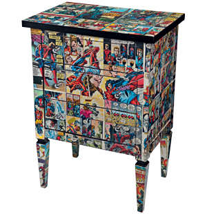 Comic Book Furniture Do It And How