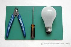 Light bulb tools