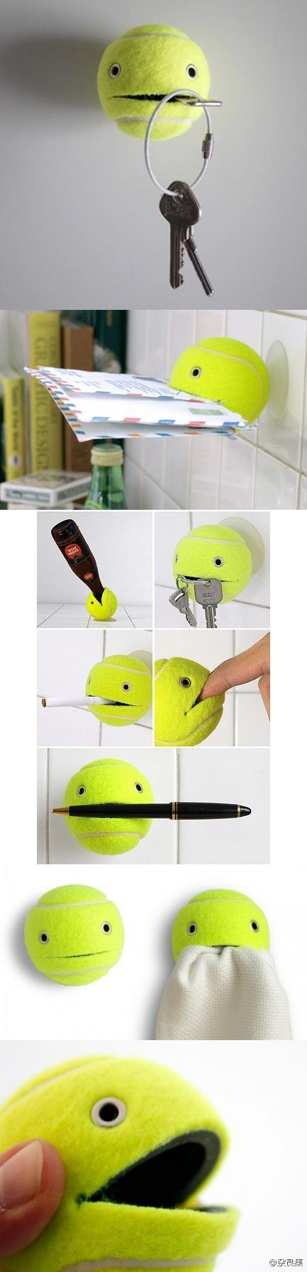 Tennis Ball Helper Accessories Do-It-Yourself Ideas Recycled Plastic