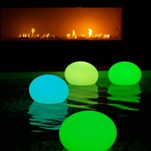 Pool Party Lighting Ideas 25 best ideas about floating candles for pool on pinterest floating pool lights floating pool decorations and tropical pool table lights Glowing Pool Party Balls