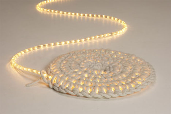 Lit Crocheted Rug For Night u2013 Do It And How