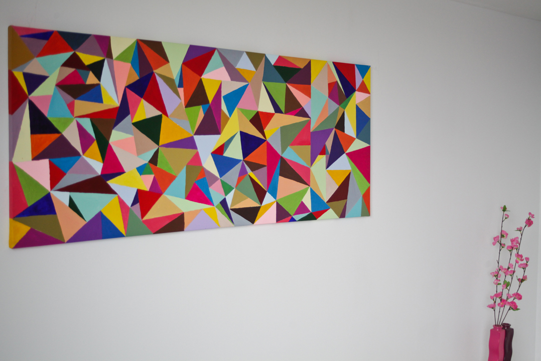 Triangle Art With Impact Do It And How