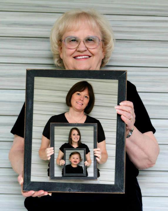 Рамки для подарка с фотографиями внуков 64