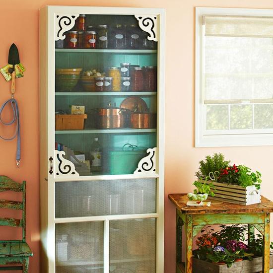 Screen Door Pantry Storage Do It And How