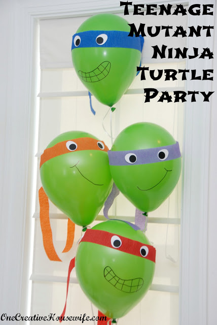 Teenage mutant ninja turtles balloons do it and how