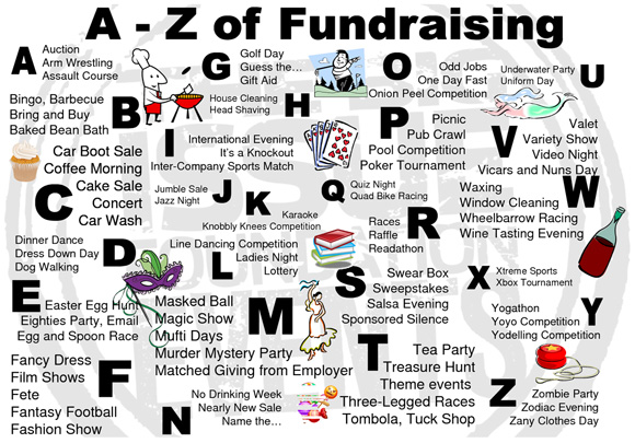 kids games for fundraising events