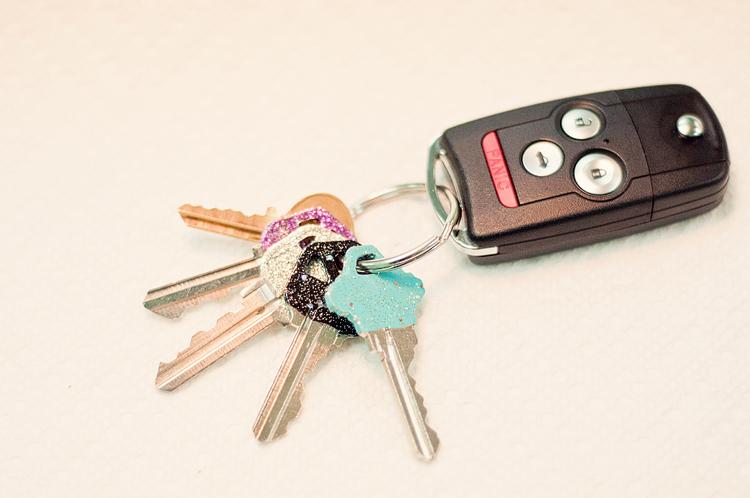 glitter key 2