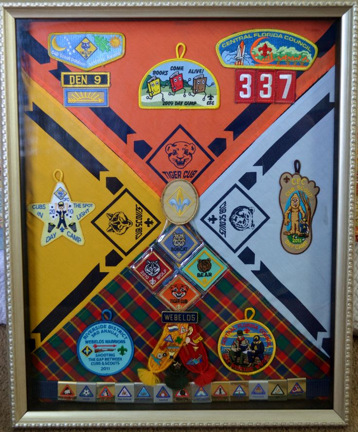 Cub Scout Framed Keepsake Do It And How