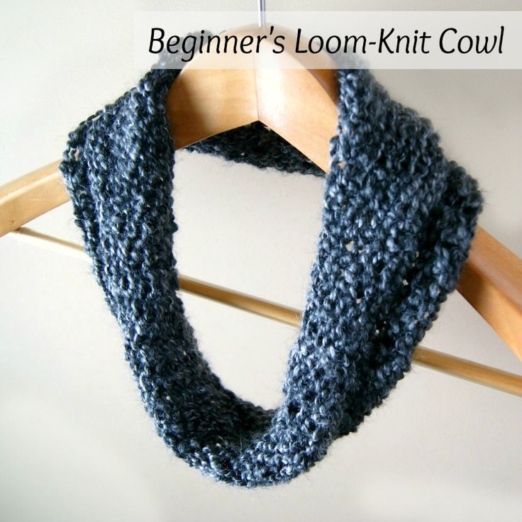 Loom Knit Cowl For Beginners Do It And How