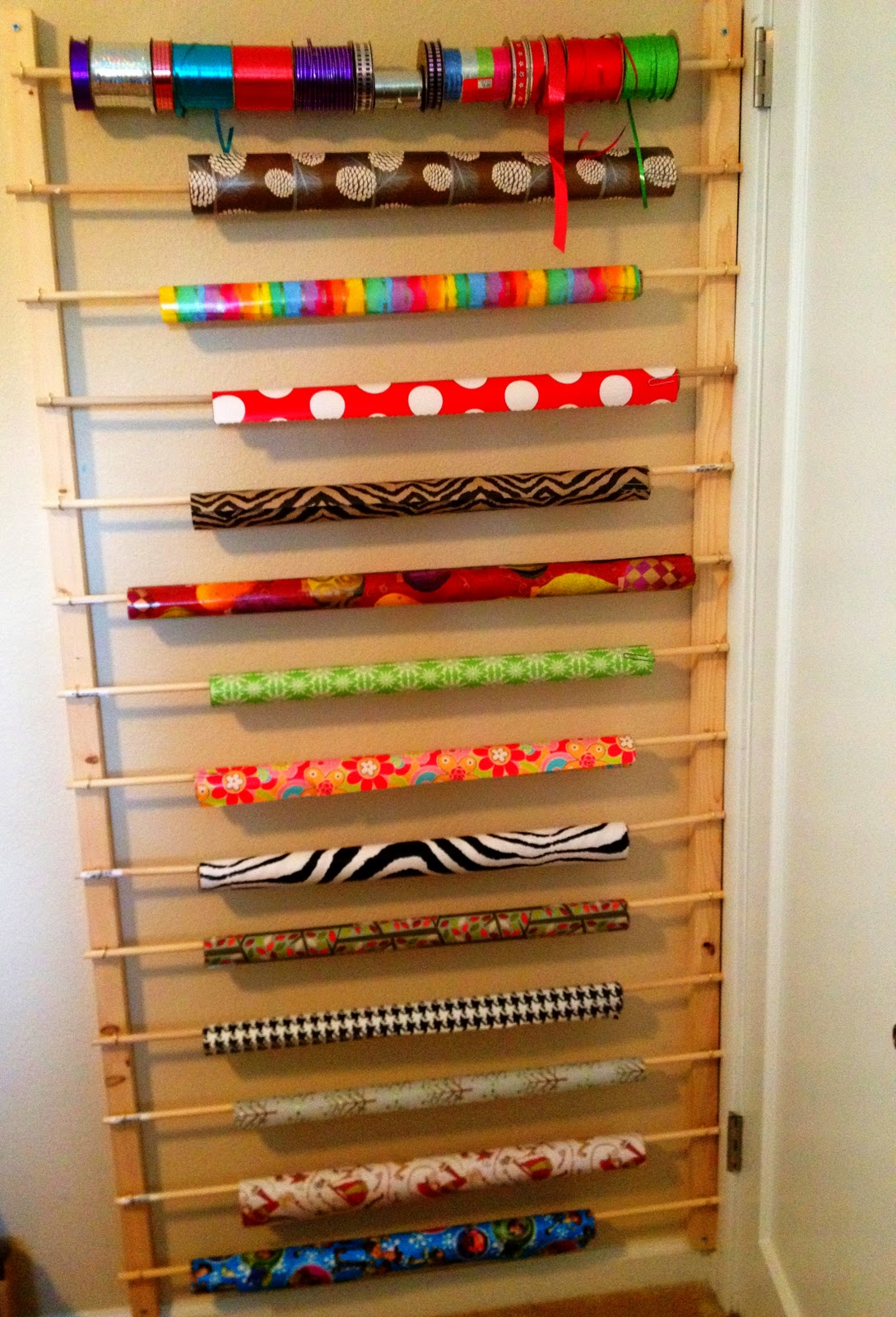 Behind door storage ideas do it and how Homemade craft storage ideas