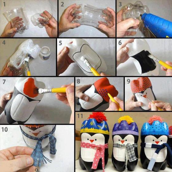 penguin-plastic-bottle-craft