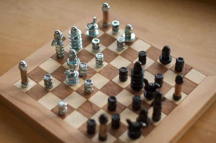 Diy Chess Board Do It And How