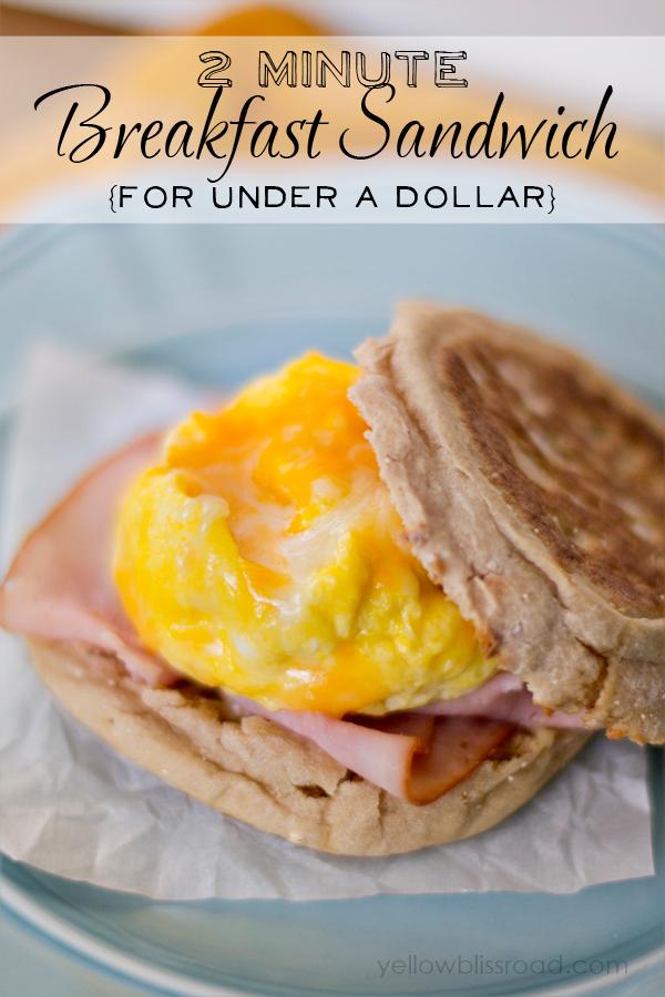 2-Minute-Breakfast-Sandwich-for-Under-a-Dollar