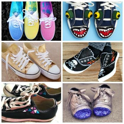 upcycled sneaker ideas