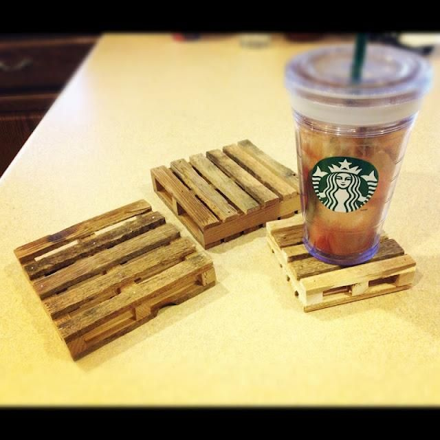 Mini Pallet Coasters Do It And How