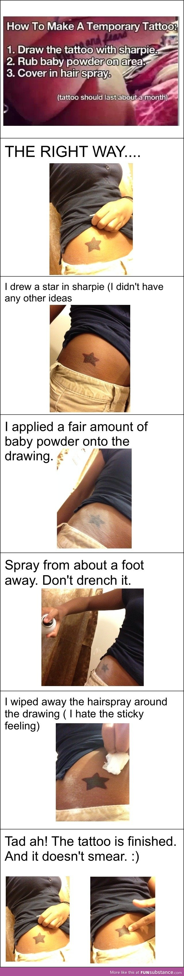 Diy Temporary Tattoo Do It And How