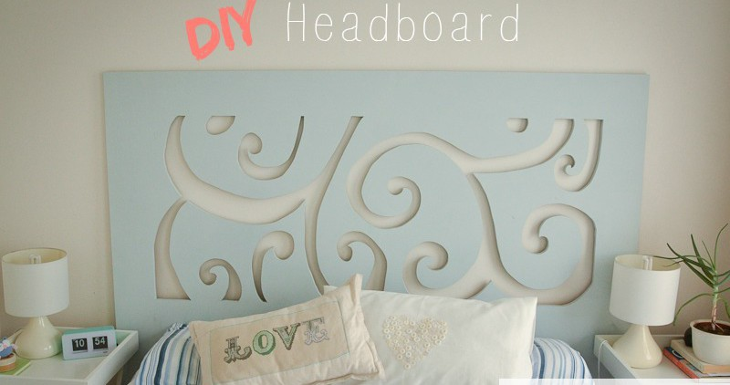 Diy Scroll Cut Out Headboard Do It And How