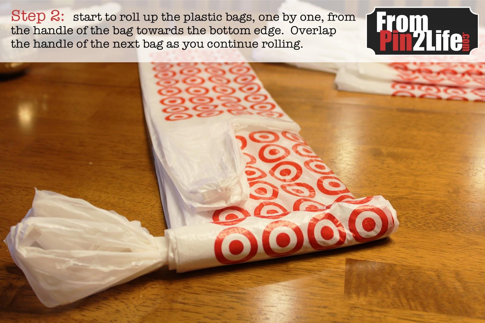 2011-11-02 plastic bag organizer 03 · via · e6b26814bed0387f5051b648a1c8d638 26a59928505f1fb80d956faf5e2b16e2 & Plastic Bag Storage Options and Tips u2013 Do It And How