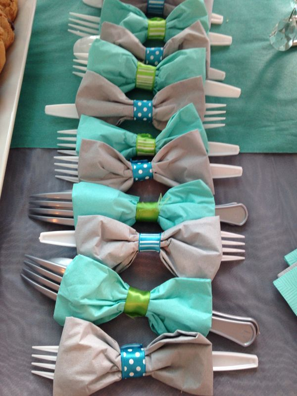 Bow Tie Plastic Cutlery Sets For Parties Do It And How