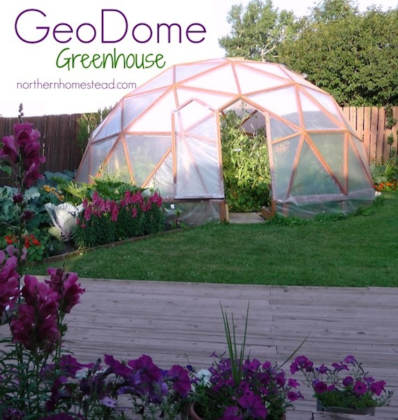 24 Geodesic Greenhouse 450 Square Feet: Do It And How