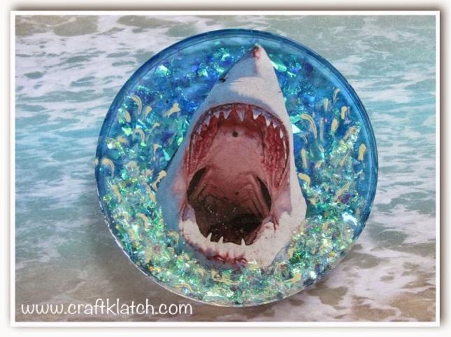 Shark Week Coaster