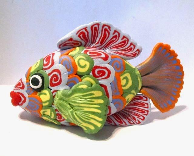 crazy polymer fish