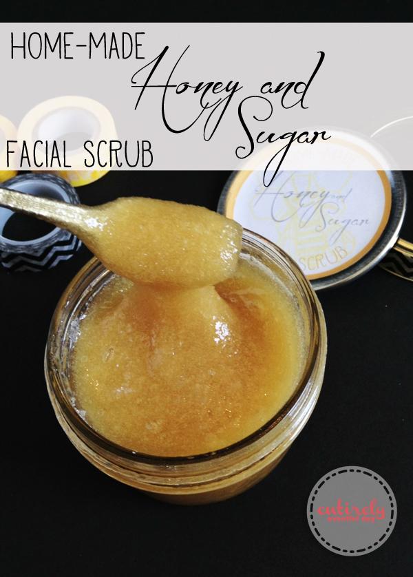 Sugar scrubs facial remedies