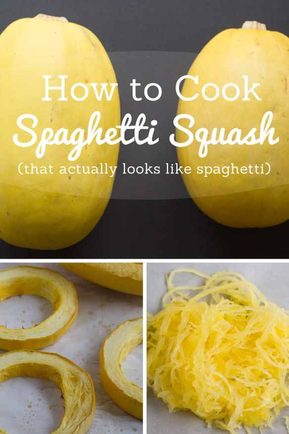 Cook spaghetti squash do it and how for What to make with spaghetti squash