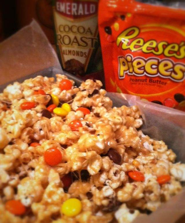 Reese's Pieces Almond Popcorn Snack