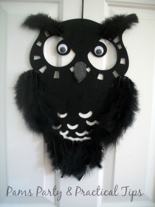 Owl Placemat Wall Hanger