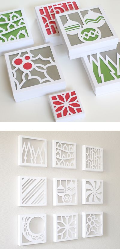Wall Design Paper Cutting : Cut out canvas wall art do it and how