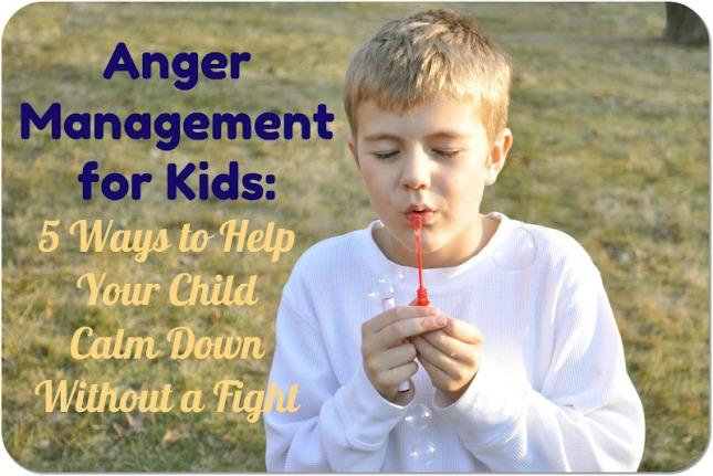 anger management tips for kids