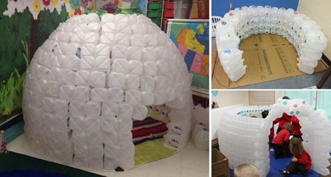 148444 how to make an igloo out of milk jugs