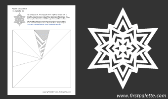 This is a graphic of Lucrative Printable Paper Snowflake Patterns