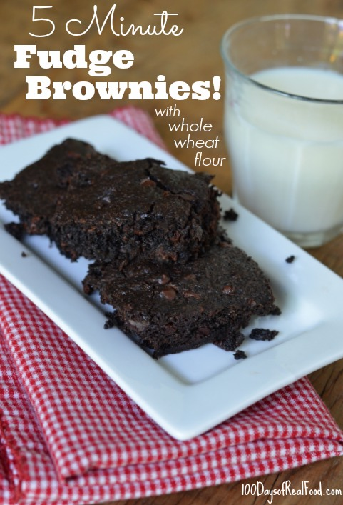 5-Minute-Fudge-Brownies-from-100-Days-of-RealFood