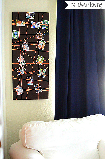 Simple-Bulletin-Board-for-Boys-Room