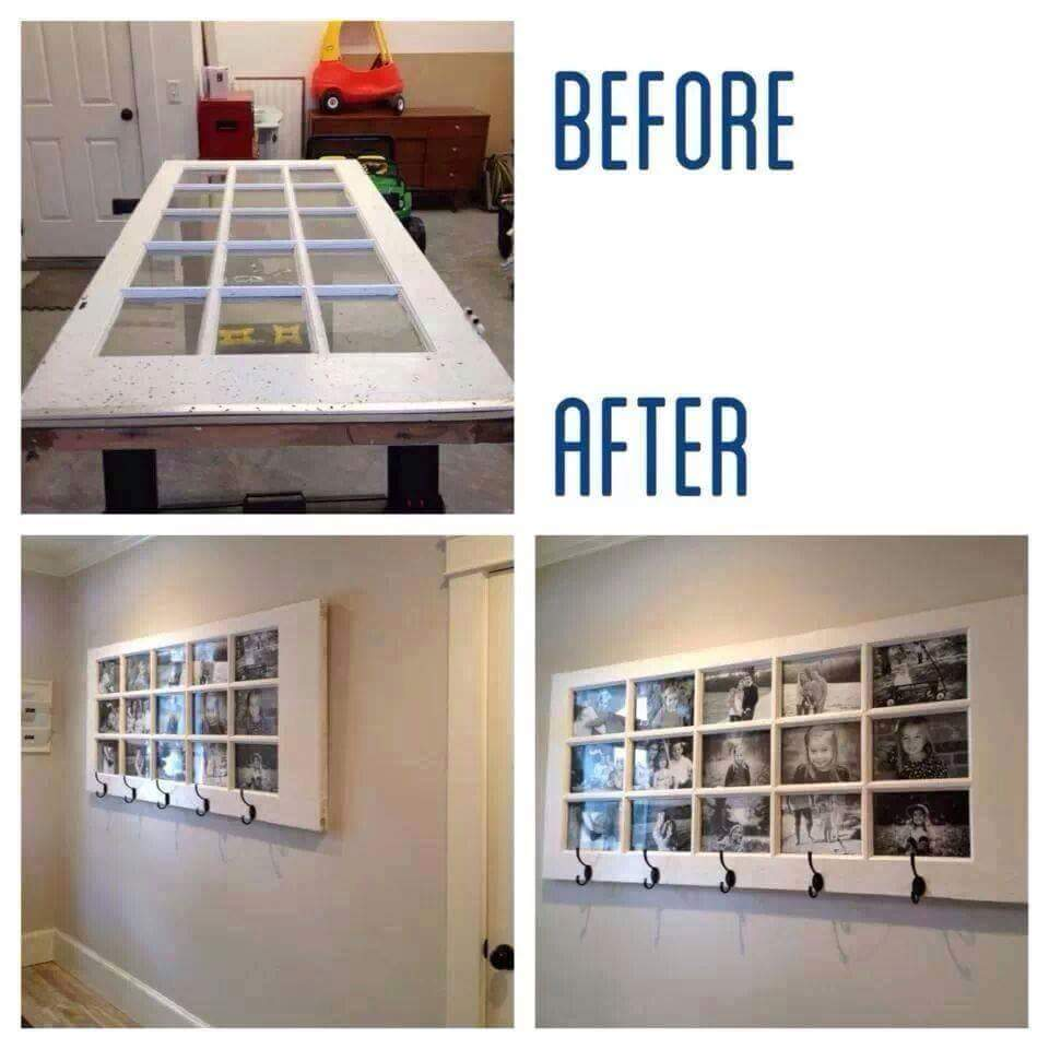 Recycled Door to Picture Frame & Recycled Door to Picture Frame u2013 Do It And How