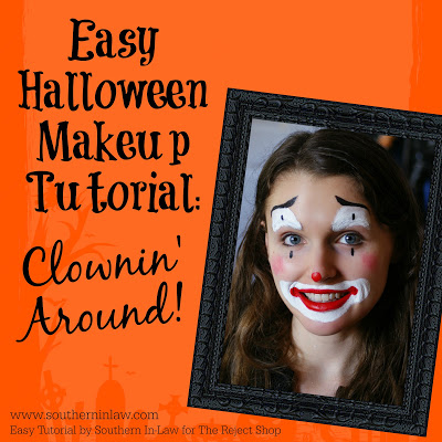 Clownin' Around Easy Clown Halloween Makeup Tutorial