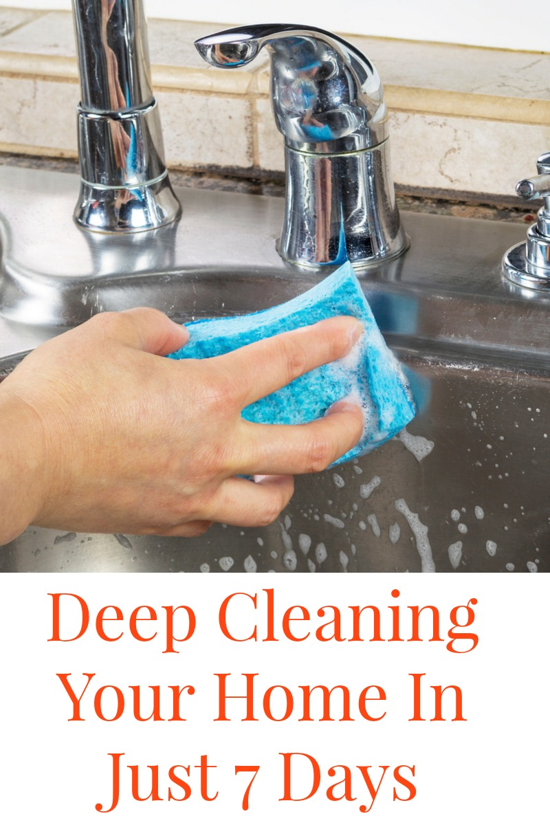 Deep Clean Your Home In A Week Do It And How
