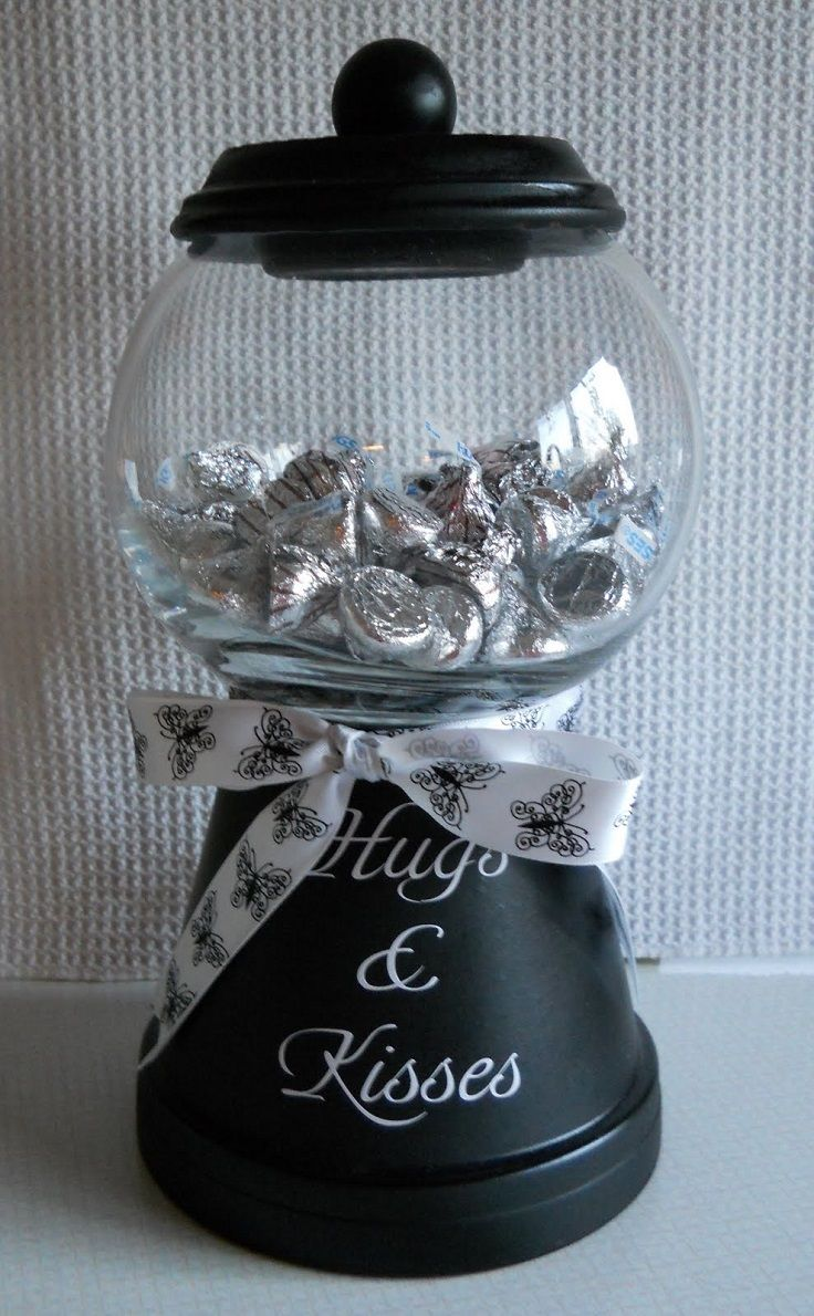 Hugs And Kisses Candy Jar Do It And How