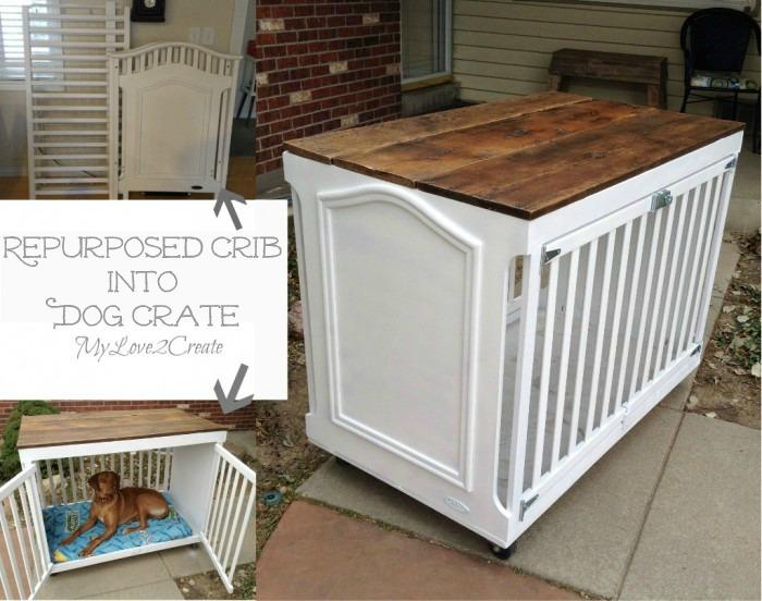 MyLove2Create-repurposed-crib-into-dog-crate