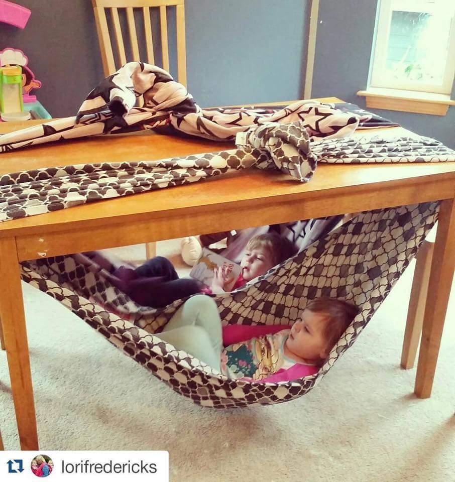 Indoor sheet hammock do it and how for Indoor hammock design