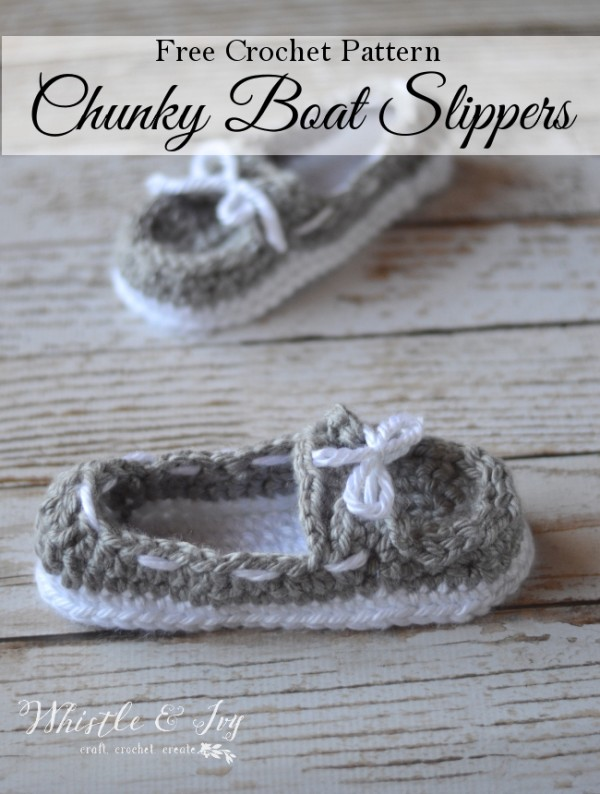Chunky Crocheted Boat Shoes ? Do It And How