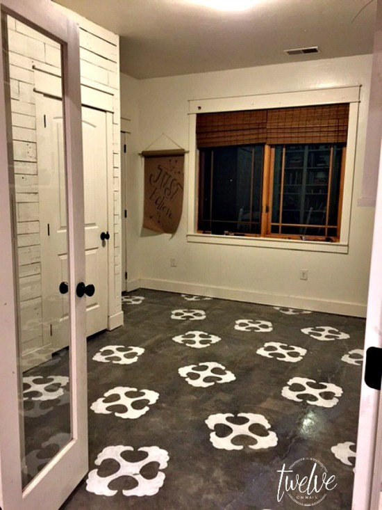 Stencil Concrete Floors Do It And How