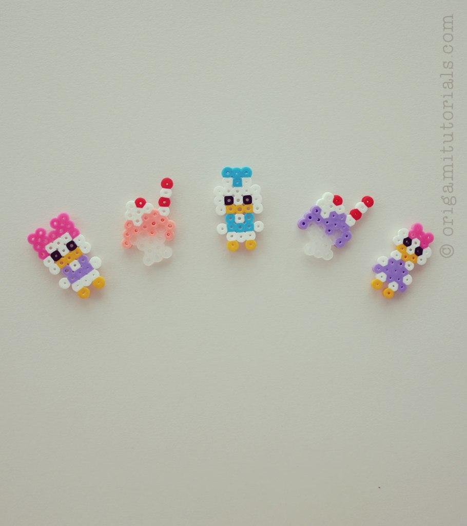 Donald-Daisy-Duck-Ice-Cream-Perler-Beads-smaller – Do It And How