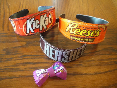 Candy Wrapper Headbands