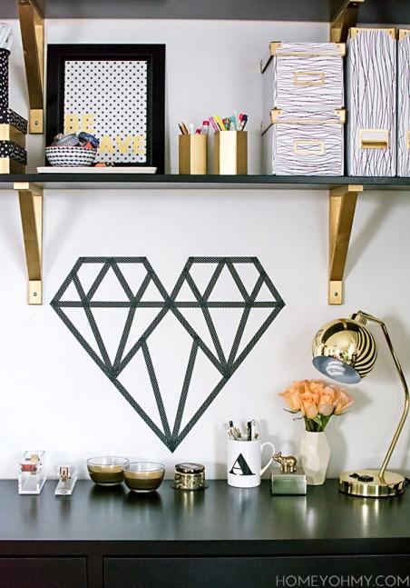 DIY-Washi-Tape-Geometric-Heart4