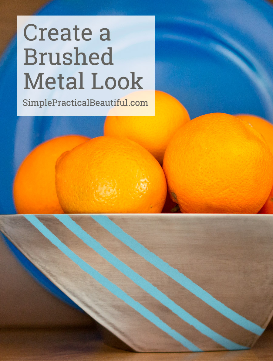 how-to-make-brushed-metal