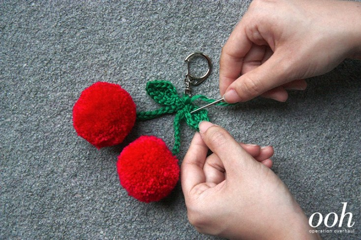 OOH-Cherry-Pompom-Keyring-Step-9